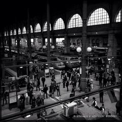 Photo taken at Gare SNCF de Paris Nord by Steven E. on 6/23/2013