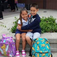 Photo taken at Tom Kitayama Elementary School by Desiree M. on 8/28/2013
