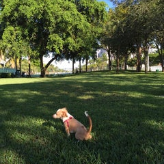 Photo taken at Waterways Dog Park by Leonardo M. on 10/25/2014