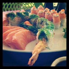 Photo taken at Kaffas Sushi by Dei S. on 5/9/2013
