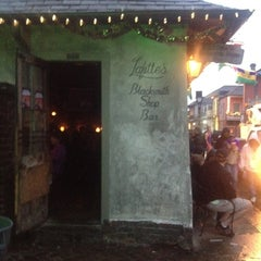 Photo taken at Lafitte's Blacksmith Shop by Jennie R. on 2/11/2013