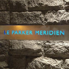 Photo taken at Le Parker Méridien New York by Jay W. on 11/8/2012