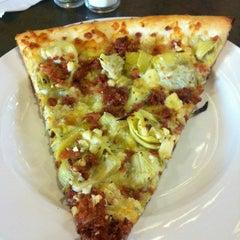 Photo taken at Mezza Luna Pizzeria by ceej on 10/12/2013