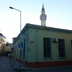 Photo taken at Akbıyık Camii by Ömer S. on 10/25/2014