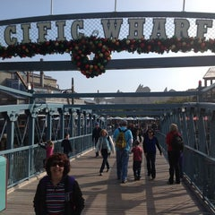 Photo taken at Pacific Wharf by Kinsey S. on 11/28/2012