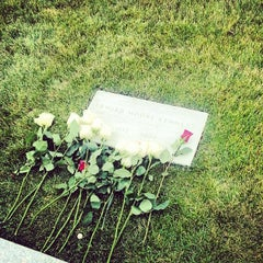 Photo taken at Edward Ted Kennedy Grave by Shaun D. on 11/21/2013