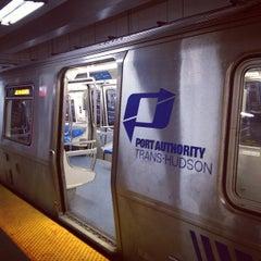 Photo taken at 33rd St PATH Station by Derek D. on 4/14/2013