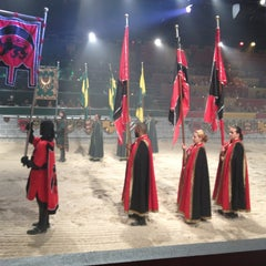 Photo taken at Medieval Times Dinner & Tournament by Karlton B. on 2/17/2013