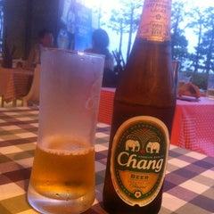 Photo taken at 헬로타이 (Hello Thai Restaurant) by Evgeny on 8/10/2014