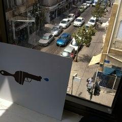 Photo taken at Inhouse - BrushGunz Studio by Best of Tel-Aviv on 5/9/2012