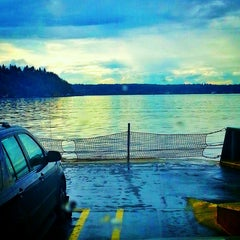 Photo taken at M/V Issaquah by Josh. on 4/12/2013