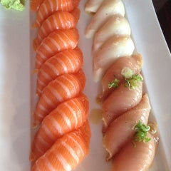 Photo taken at Starfish Sushi by Jo S. on 5/1/2014