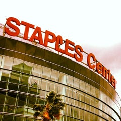 Photo taken at Staples Center by Luis C. on 5/5/2013