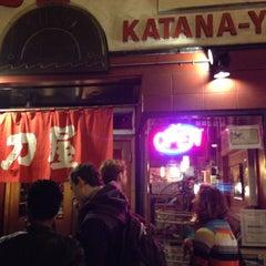 Photo taken at Katana-Ya by matt j. on 11/14/2012