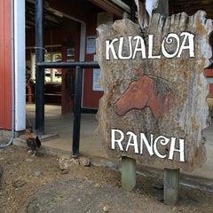 Photo taken at ATV at Kualoa Ranch by Suncheol G. on 5/10/2014