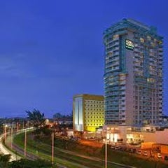 Photo taken at Four Points by Sheraton Macaé by Marta O. on 2/14/2013