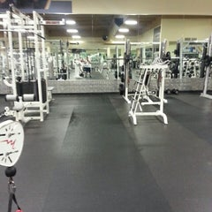 Photo taken at 24 Hour Fitness by Khamphou P. on 3/16/2013