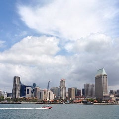 Photo taken at San Diego Bay by David B. on 5/8/2013
