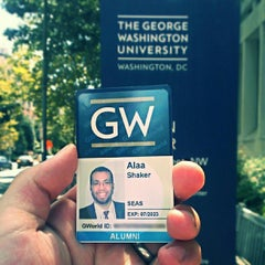 Photo taken at GWU Marvin Center by Alaa S. on 8/23/2013
