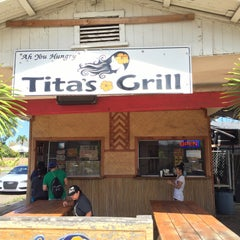 Photo taken at Tita's Grill by Gabriel C. on 2/12/2015
