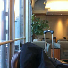 Photo taken at United Global First Class Lounge by Jo F. on 12/31/2012