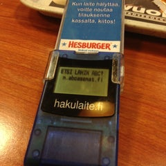 Photo taken at ABC Riihimäki by Henkka on 1/14/2013