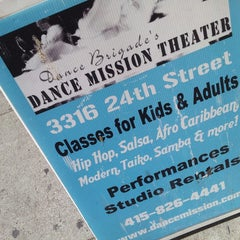 Photo taken at Dance Mission Theater by Lee Lee C. on 10/11/2014