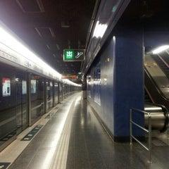 Photo taken at MTR Shau Kei Wan Station 筲箕灣站 by blitzkriëg on 11/2/2012