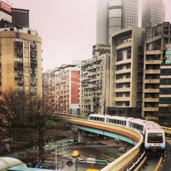 Photo taken at 捷運六張犁站 MRT Liuzhangli Station by blitzkriëg on 3/20/2014