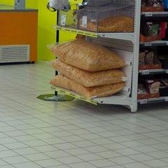 Photo taken at Auchan Fehér tó by Nemanja S. on 3/29/2014