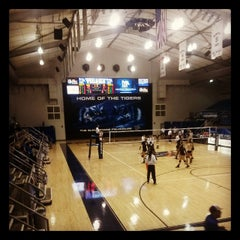 Photo taken at Elma Roane Fieldhouse by Guilherme C. on 11/28/2013