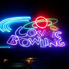 Photo taken at Cosmic Bowling by Rebelyen F. on 2/24/2013