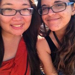 Photo taken at Broadway Caltrain Station by Jenny (Yuli) W. on 8/17/2013