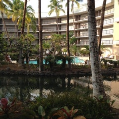 Photo taken at Ocean Tower Pool by Whitney W. on 12/30/2012