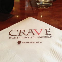 Photo taken at CRAVE Restaurant Galleria by Trev M. on 4/21/2013