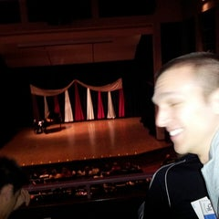 Photo taken at Weasler Auditorium by Courtney N. on 2/17/2013