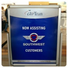 Photo taken at AirTran Airways Ticket Counter by Troy B. on 5/1/2013