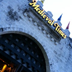 Photo taken at Medieval Times Dinner & Tournament by Bruno V. on 4/4/2013