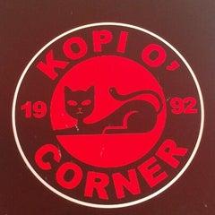 Photo taken at Kopi O' Corner by ibtisam c. on 3/15/2013