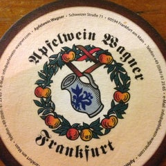 Photo taken at Apfelweinwirtschaft Adolf Wagner by STommy on 10/6/2012