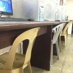 Photo taken at University of Visayas - GCM Library by Rovanne S. on 2/21/2013