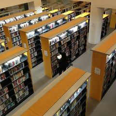 Photo taken at San Francisco Public Library - Main Library by Rose N. on 1/19/2013