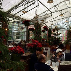 Photo taken at High Hand Nursery & Cafe by Nicole D. on 11/29/2014
