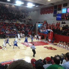 Photo taken at Carnesecca Arena by James B. on 12/22/2012