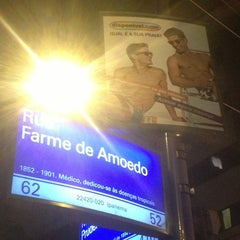 Photo taken at Rua Farme de Amoedo by Renato C. on 1/1/2013