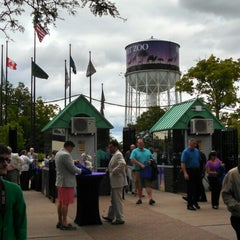 Photo taken at Detroit Zoo Water Tower by James T. on 6/13/2014