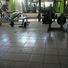 Photo taken at Olympia Gym by Armandi P. on 3/18/2013