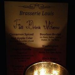 Photo taken at Brasserie Louis by Joshua on 12/24/2012