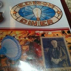 Photo taken at Edison Diner by Latisha L. on 3/17/2013
