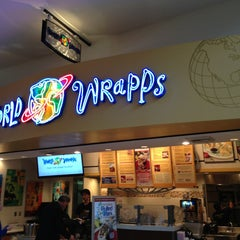 Photo taken at World Wrapps by David S. on 3/3/2013
